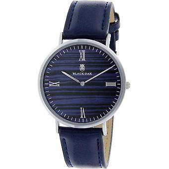 Black Oak BX92004-208 - watch leather blue woman