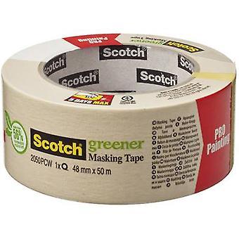 3M 7000059919 Masking tape Scotch® Beige (L x W) 50 m x 48 mm 1 Rolls