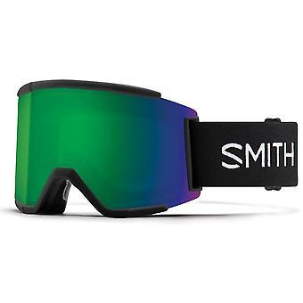 Smith Squad XL Black - 9MK - Sun Green Mirror