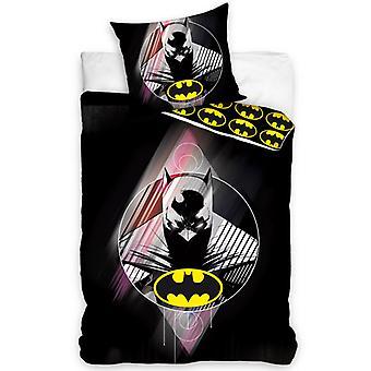 Batman Single Cotton Duvet Cover and Pillowcase Set - Tamaño europeo