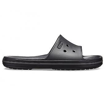 Crocs 205733 Crocband III Slide Mens Sandals Noir/graphite