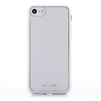 Hull For iPhone 8 / IPhone 7 Transparent Silver Contour