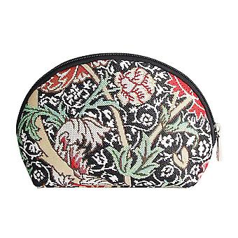 William morris - the cray cosmetic bag by signare tapestry / cosm-cray