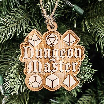 Ornament-Dungeon Master-rå tre 3x3in