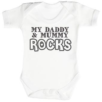 Mój tatuś & mumia skały Baby Body / Babygrow