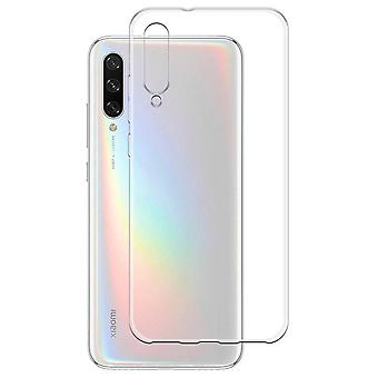 Fall CoolSkin3T TPU Fall für Xiaomi MI 9 Lite Transparent Weiß