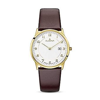 Dugena Watch Analog quartz men's watch with leather 4460743