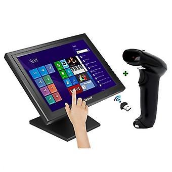 TPV iggual IGG316290 17&; LCD Bluetooth (2 szt.) Czarny