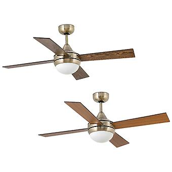 Deckenventilator MINI ICARIA Messing 107cm / 42