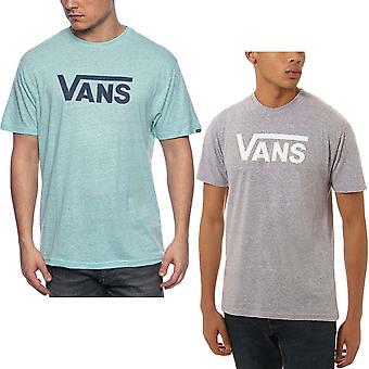 Vans Mens Classic Premium Short Sleeve Crew Collo Casual T-Shirt Top Tee
