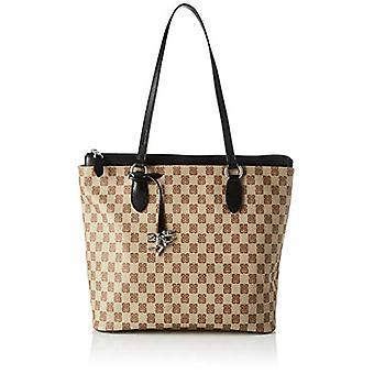 piero drive Tote Bag Women's Shoulder Bag (Black) 30x30x14 cm (W x H x L)