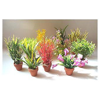 Sydeco Low Potted Plants Sydeco (Vissen , Decoratie , Kunstplanten)