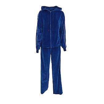 Iceberg E07163136708 Women's Blue Cotton Jumpsuit