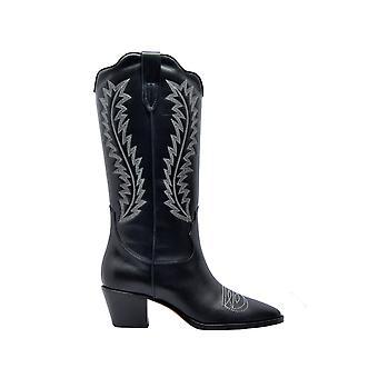 Paris Texas Px174black Women's Black Leather Boots
