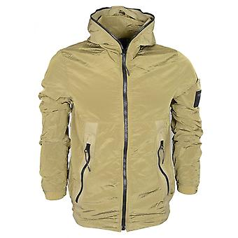 Replay Nylon Slim Fit Khaki Jacke