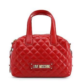 Love Moschino Original Women Fall/Winter Handbag - Red Color 37079