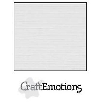 CraftEmotions linen cardboard 10 Sh antique Grey 30,0x30,0cm / LC-81