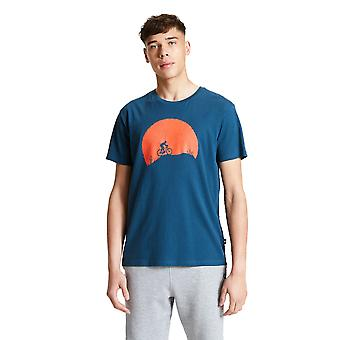 Durf 2b Mens Bepalen Cotton Jersey Graphic T Shirt Tee