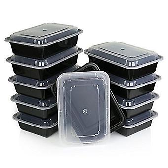 Kabalo 10 Pack Premium stapelbar Mikrowelle wiederverwendbare Lunchbox Food Container Mahlzeit-Boxen