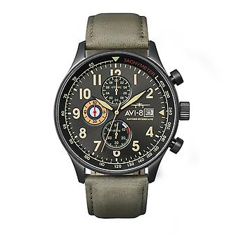AVI-8 AV-4011-0E Hawker Hurricane Chronograph Wristwatch