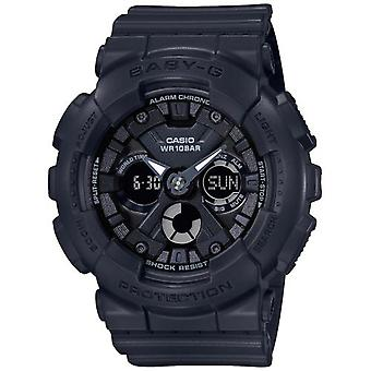 Casio Baby-G Quartz Black Dial Resin Strap Ladies Watch BA-130-1AER