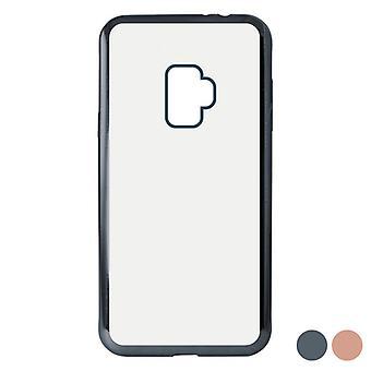 Cubierta móvil Samsung Galaxy S9 KSIX Flex Metal TPU Flexible/Gris