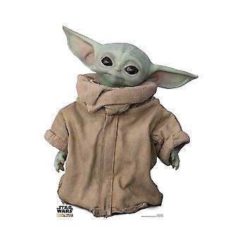 The Child (Baby Yoda) Head Tilt Official Mandalorian Cardboard Cutout