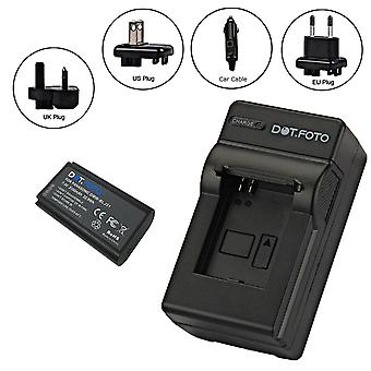 Dot.Foto DMW-BLJ31 PREMIUM 7.4v / 3100mAh batteri- og batterireiselader for Panasonic - 100-240v nett - 12v i bilen adapter [Se beskrivelse for kompatibilitet]