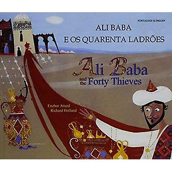 Ali Baba and the Forty Thieves in Portuguese and English by Enebor At