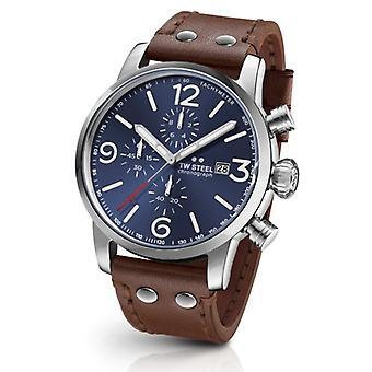 TW Steel MS104 Maverick chronograph watch 48mm