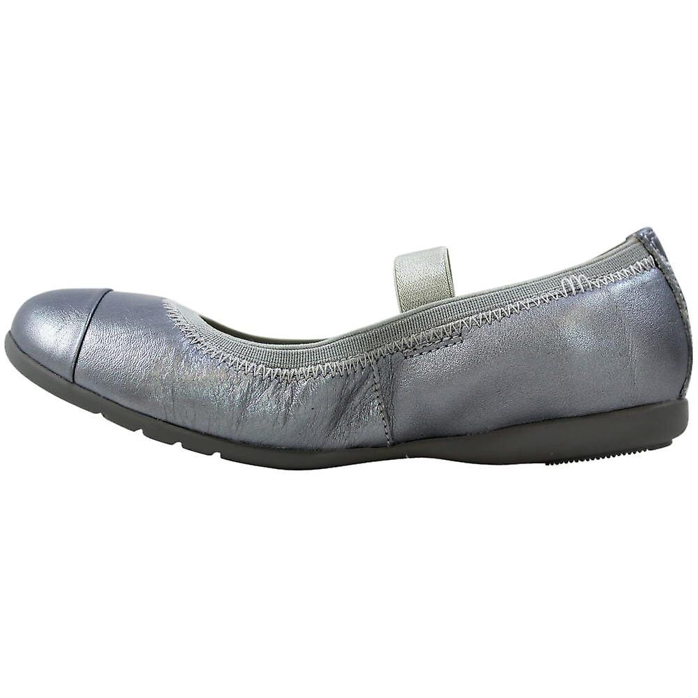 Clarks Dancebrite Inf Sølv Lær 26105820 Førskolen