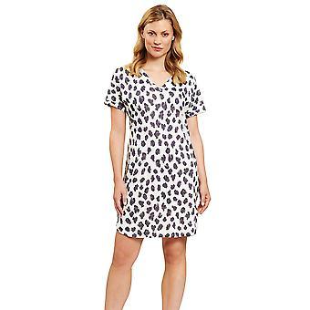 Féraud 3201089-15647 Women's High Class Modern Flower Loungewear Nightdress