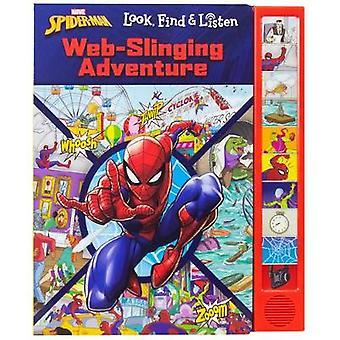 Look Find Listen Spiderman by Derek Harmening - 9781503747913 Book