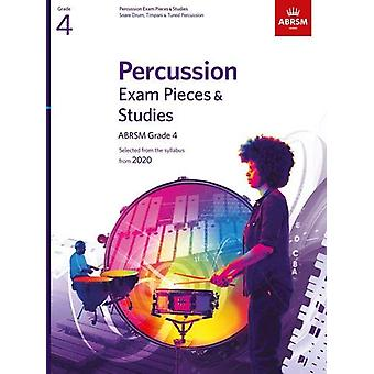 Percussion Exam Pieces & Studies - ABRSM Grade 4 - Selected from t