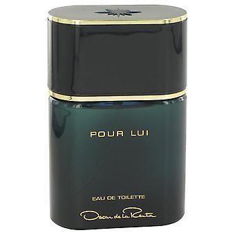 Oscar Pour Lui Eau De Toilette Spray (ausgepackt) von Oscar de la Renta 3 oz Eau De Toilette Spray