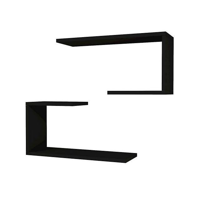 M.J. réparer couleur noire en puce melaminique, PVC 60x20x27 cm