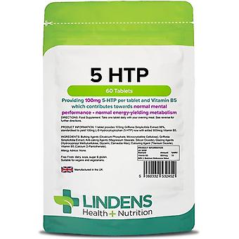Lindens 5-HTP 100mg Tablets 60 (2452)