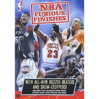 NBA - Furious Finishes [DVD] USA import