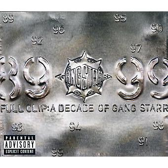Gang Starr - Full Clip-a Decade of Gang Sta [CD] USA import