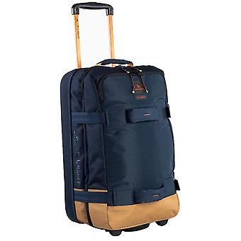 Rip Curl F-Light Transit Hyke Wheeled Luggage in Navy