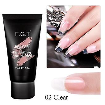 Polish Manicure Polygel Nail Set- Crystal Acrylic Gel For Nail Extention