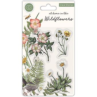 Craft Consortium At Home in the Wildflowers Clear Stamps Flora