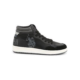 U.S. Polo Assn. - Shoes - Sneakers - ALWYN4116W9_YS1_BLK - Men - Schwartz - EU 45