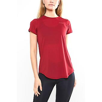 Craft Women's Charge Short Sleeve Running T-Shirt Red