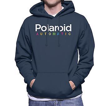 Polaroid Automaattinen Miesten&s Hupullinen Collegepaita