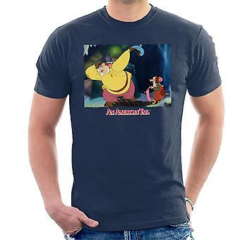 Amerikkalainen hännän Papa tutkiva miesten ' s T-paita