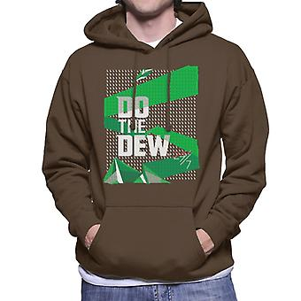 Mountain Dew Do The Dew 24 7 Men's Hooded Sweatshirt