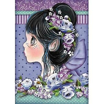 Rice Paper A4 Lilac Fairy (DFSA4411)