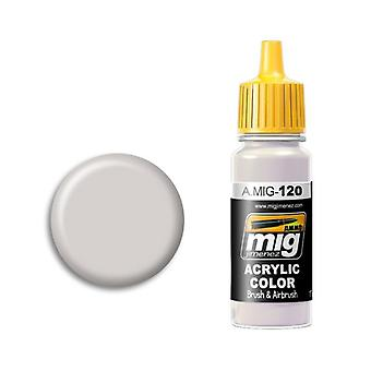 Ammo by Mig Acrylic Paint - A.MIG-0120 Light Brown Gray (17ml)
