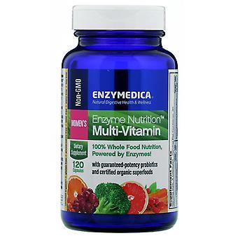Enzymedica, Enzyme Nutrition Multi-Vitamin, Women's, 120 Capsules
